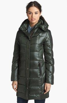 268714bd92 RAINFOREST Down Coat with Detachable Hood on shopstyle.com