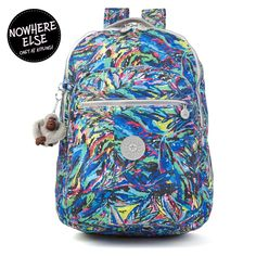 Seoul Printed Laptop Backpack - Garden Day Dream Print Kipling Bags 5e429539f3