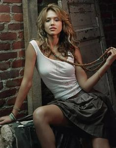 """Photos of Jessica Alba, one of the hottest girls in entertainment. Jessica started her career in """"Camp Nowhere"""". She then went on to be in such films as """"Idle Hand"""", """"Into the Blue"""" and """"The Fantastic Four"""".Jessica has become uber famous for her acting ..."""