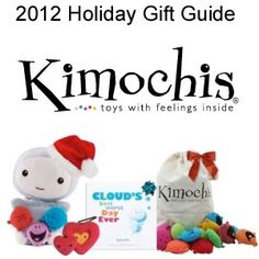 Kimochi Dolls with Emotion Pillows - Teach your child about emotions (Good idea for a DIY project also.)