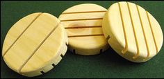 circular (round) wood soap dishes