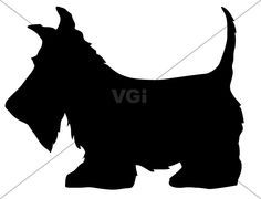 scottish terrier outline tattoo - Google Search