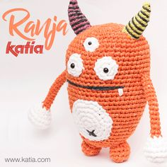 3 monstrous amigurumi to crochet with Katia Washi this Halloween. Let's picnic with the Monstrous Family! Washi, Free Crochet, Crochet Hats, Halloween, Yarn Inspiration, Lets Celebrate, Knitting Patterns, Picnic, Xmas