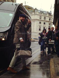 Martin Freeman arriving at Trafalgar Studios ~ July 10