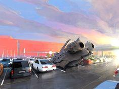 Breathtaking Concept Art by Maxim Revin
