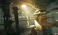 Prince of Persia Forgotten Sands - Fantasy, VideogamesCoolvibe – Digital Art Fantasy City, Fantasy Places, High Fantasy, Fantasy World, Landscape Concept, Fantasy Landscape, Landscape Art, Environment Concept Art, Environment Design