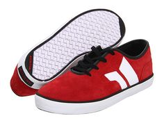 Macbeth Pendleton Red/Black Vegan Shoes - Zappos.com   I want so much vegan clothing right now.