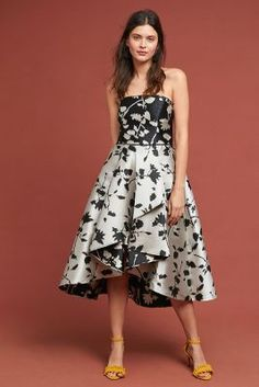 126b33ac9e40 Shop the Shoshanna Floral Ball Gown and more Anthropologie at Anthropologie  today. Read customer reviews