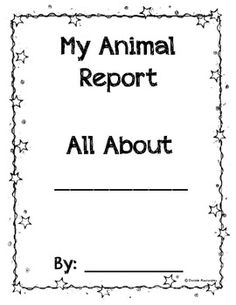 Free Printable Science Report Forms For Homeschoolers  Students