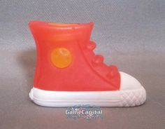 Red Sneaker Fashion Pet Gomu Collectible Eraser #gomu #erasers #eraser #gomueraser #collectible #toy #toys http://wwww.thegamecapital.com