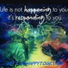 We are vibrational beings ... to learn more about that follow the link @gettinghappytogether ...