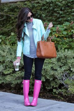 Pastels and brights