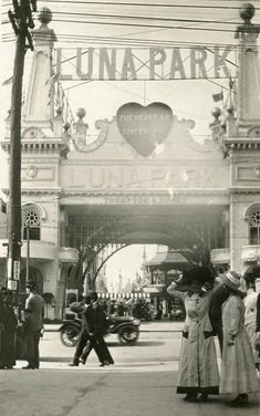 """Luna Park - The Heart of Coney Island"", early 1900s"