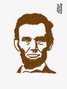Abe Lincoln by Elizabethjunean.deviantart.com on @DeviantArt