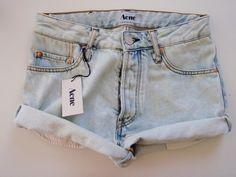 high waisted shorts (: