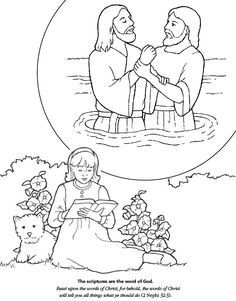 Hicks. The Peaceable Kingdom. Coloring page and lesson