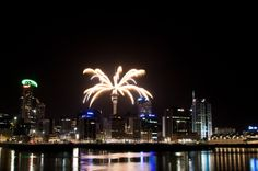 New Year's Eve fireworks from Auckland. New Years Eve Fireworks, Auckland, Short Stories, Thriller, Opera House, Adventure, Travel, Viajes, Traveling