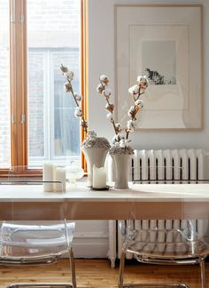 creamy white dining room / design*sponge
