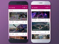 Tomorrowland App Lineup by Moisés Dias