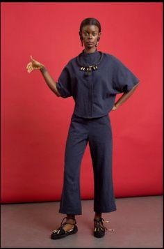 Seaside Chic: Pichulik's Hemp Clothing and Espadril Shoe Range African Women, African Fashion, Hemp Fabric, Brave Women, Bold Jewelry, Tailored Trousers, Easy Wear, Powerful Women, Normcore