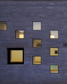Square Window Wall