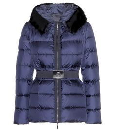 MONCLER Fabreges Down Jacket With Detachable Fur Trim. #moncler #cloth #jackets