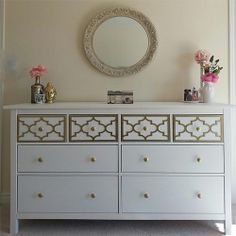 Morvi Zarpak Hemnes 8 drawer Jasmine Top Drawer only Kit | Flickr - Photo Sharing!