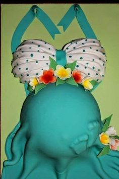 Baby Shower Cakes Gone Wrong - The Laughing Stork Idee Baby Shower, Shower Bebe, Baby Bump Cakes, Baby Cakes, Gateau Baby Shower, Baby Shower Cakes, Cupcakes, Cupcake Cakes, Beautiful Cakes