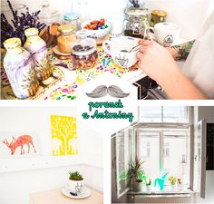 coffee, tea, workspace, workshop, desk, homeoffice, office, interior design, interiors, colorful, photo: Zenja blog