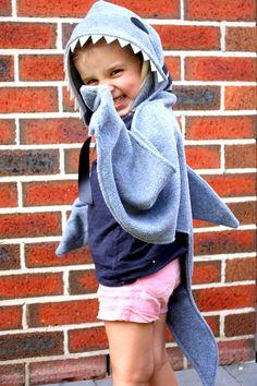 Shark Cape Costume by sparrow & b