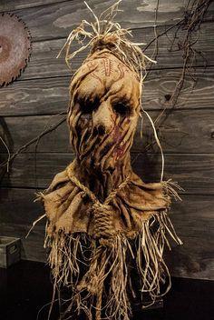 Scarecrow mask voodoo Halloween mask