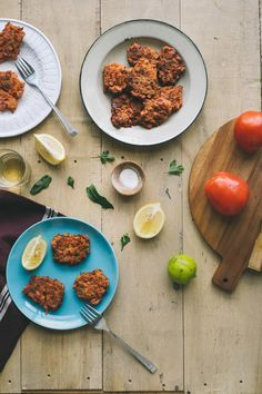 "Tomato Fritters - ""domatokeftedes"" (Souvlaki For The Soul)"