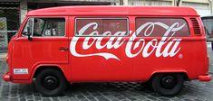 la van de Coca Cola