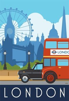 ~ London, England | Travel Poster