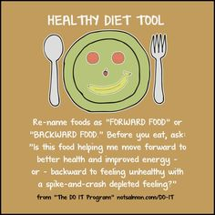 Healthy diet tool: Forward Food & Backward Food concept Want to stop emotional eating? Here are diet motivation quotes to inspire you to resist stress eating and choose to eat in healthier, more self loving ways. Diets Plans To Lose Weight, How To Lose Weight Fast, Weight Gain, Weight Loss, Reduce Weight, Diet Motivation Quotes, Health Motivation, Thin Motivation, Health Goals