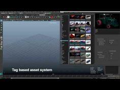 Maya asset manager - YouTube
