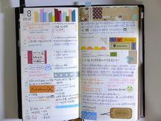 Traveler's Notebook : August week4