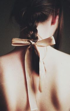 sweet silk blush bow