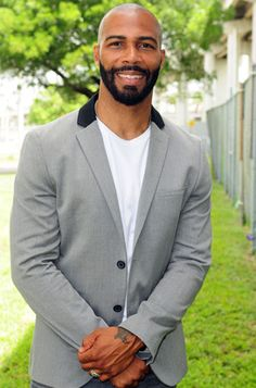 Omari Hardwick...I stay watching Being Mary Jane because of this man.