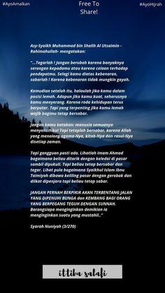 Hadith Quotes, Muslim Quotes, Qoutes, Beautiful Islamic Quotes, Islamic Inspirational Quotes, Cinta Quotes, Prayer Verses, Self Reminder, Quotes Indonesia
