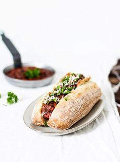 gourmet hot dog | outdoor party