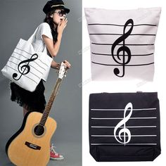 bolsos con notas musicales - Buscar con Google