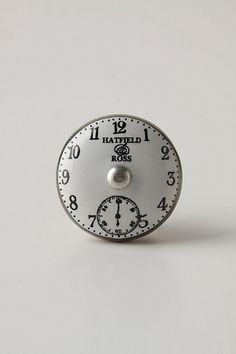 Chronograph Knob #anthropologie