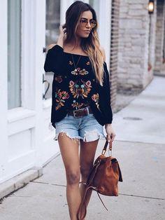 a0737dbe85290 Dresswel Women Off the Shoulder Long Sleeve Floral Shirt Tops