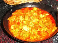 Chtitha Mokh (cervelle d'agneau en sauce) /Plat Algérien