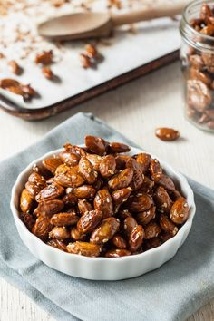 Recipe: Maple-Tamari Roasted Almonds