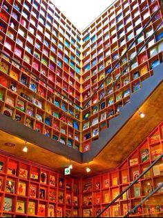 Can't neglect modern Japanese culture - the Kyoto International Manga Museum