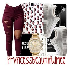 """✨"" by prvncessbeautifulmee ❤ liked on Polyvore featuring MCM, Casetify, Michael Kors and Puma"