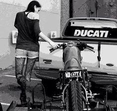 Ducati 796, Thalia, Motocross Tattoo, Motorbike Leathers, Stunt Bike, Vans Girls, Girl Themes, Hot Bikes, Hot Cars
