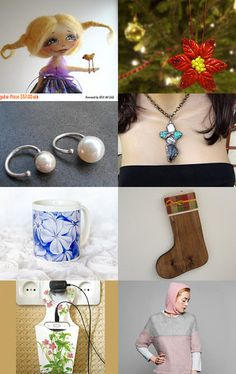 Christmas gifts by Anna Styopina on Etsy--Pinned with TreasuryPin.com